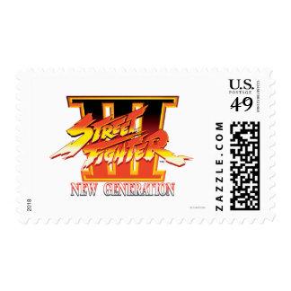 Logotipo de la nueva generación de Street Fighter Sello