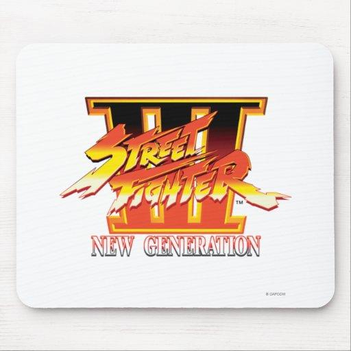 Logotipo de la nueva generación de Street Fighter  Tapete De Ratón