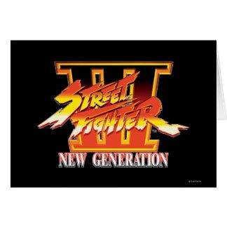 Logotipo de la nueva generación de Street Fighter  Felicitaciones