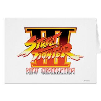 Logotipo de la nueva generación de Street Fighter  Tarjeta