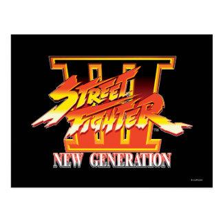 Logotipo de la nueva generación de Street Fighter  Postal