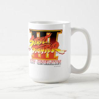 Logotipo de la nueva generación de Street Fighter  Taza De Café