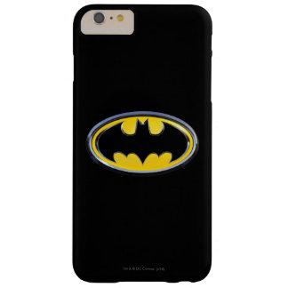 Logotipo de la obra clásica de Batman Funda De iPhone 6 Plus Barely There