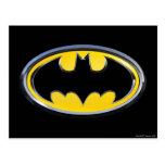 Logotipo de la obra clásica de Batman Postales