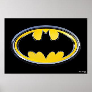 Logotipo de la obra clásica de Batman Póster