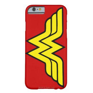Logotipo de la obra clásica de la Mujer Maravilla Funda Para iPhone 6 Barely There