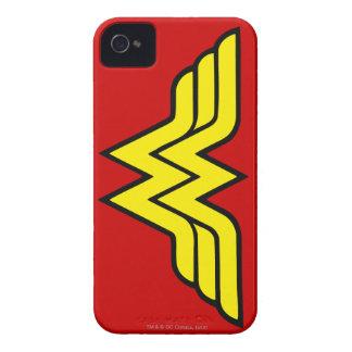 Logotipo de la obra clásica de la Mujer Maravilla iPhone 4 Case-Mate Protectores