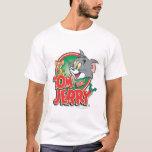 Logotipo de la obra clásica de Tom y Jerry Playera
