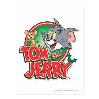 Logotipo de la obra clásica de Tom y Jerry Postal