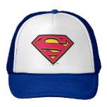 Logotipo de la obra clásica del superhombre gorra