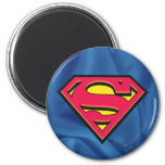 Logotipo de la obra clásica del superhombre iman de nevera