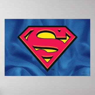 Logotipo de la obra clásica del superhombre poster