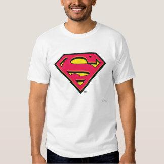 Logotipo de la obra clásica del superhombre remera