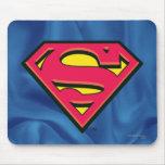 Logotipo de la obra clásica del superhombre tapete de ratón