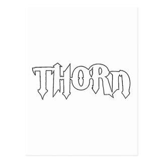Logotipo de la original de la espina postal