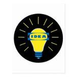 Logotipo de la parodia de la idea de Brigth Postales