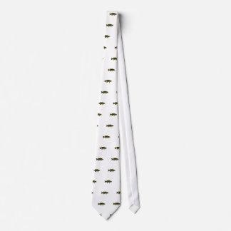 Logotipo de la perca canadiense corbatas personalizadas
