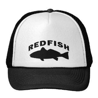 Logotipo de la pesca de los salmones gorros bordados