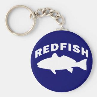 Logotipo de la pesca de los salmones llavero redondo tipo pin