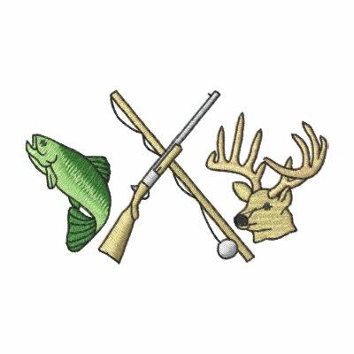 Logotipo de la pesca y de la caza