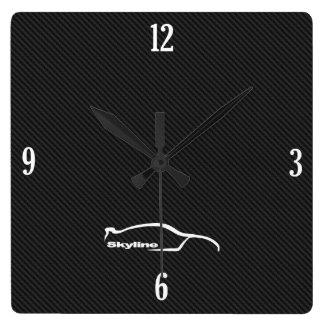 Logotipo de la pincelada de GT-r del horizonte Reloj