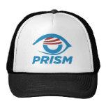 Logotipo de la prisma de Obama Gorro De Camionero