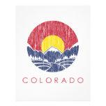 Logotipo de la puesta del sol de Colorado de la mo Plantillas De Membrete