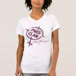 Logotipo de la púrpura de la camisa de PMS