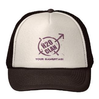 Logotipo de la púrpura del sombrero H20 Gorra