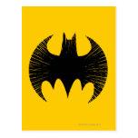 Logotipo de la raya de Batman Postal