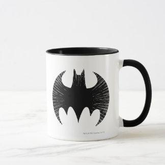 Logotipo de la raya del símbolo el | de Batman