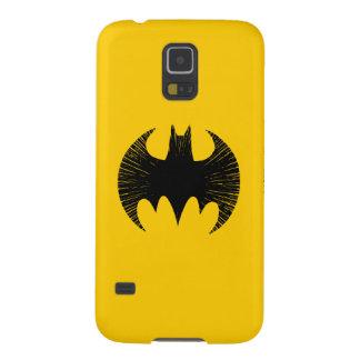 Logotipo de la raya del símbolo el | de Batman Funda Para Galaxy S5