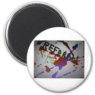 Logotipo de la reforma imán redondo 5 cm