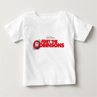 Logotipo de la reunión el Robinsons Disney Playera De Bebé