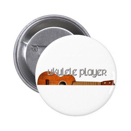 Logotipo de la revista del jugador del Ukulele Pins