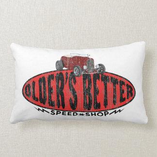 Logotipo de la tienda de la velocidad del coche de almohadas