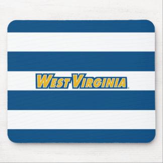 Logotipo de la universidad de Virginia Occidental Alfombrillas De Ratón