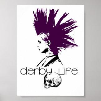 Logotipo de la vida de Derby Posters