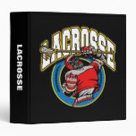 """Logotipo de LaCrosse de los hombres Carpeta 1 1/2"""""""