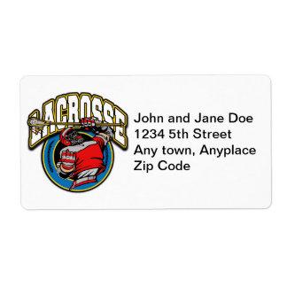 Logotipo de LaCrosse de los hombres Etiquetas De Envío