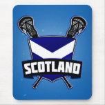 Logotipo de LaCrosse del escocés Mousepads