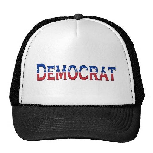 Logotipo de las barras y estrellas de Demócrata Gorro
