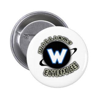 Logotipo de las empresas de Williams Pin Redondo 5 Cm