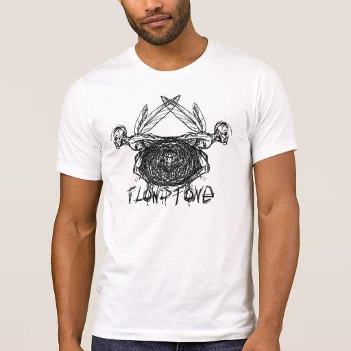 Logotipo de las hadas de los gráficos de Flowstone Camiseta