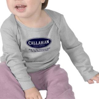 Logotipo de las piezas de automóvil de Callahan Camiseta
