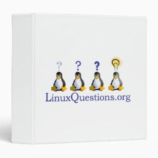 Logotipo de las preguntas de Linux