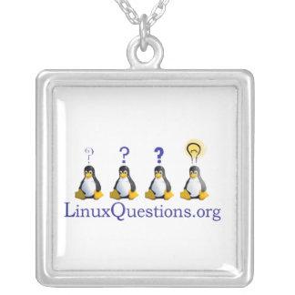 Logotipo de las preguntas de Linux Joyería