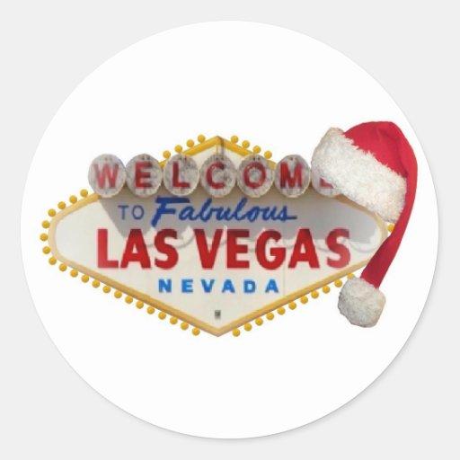 Logotipo de Las Vegas con el pegatina del