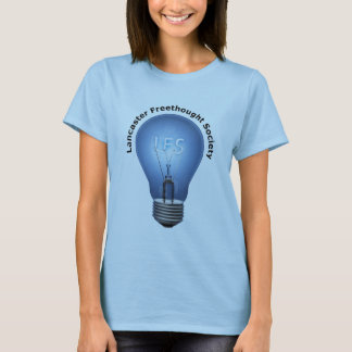 Logotipo de LFS en camiseta azul de la muñeca de