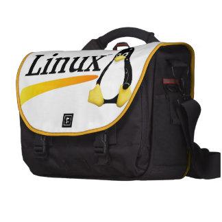 Logotipo de Linux con los productos de Tux Bolsas Para Portatil